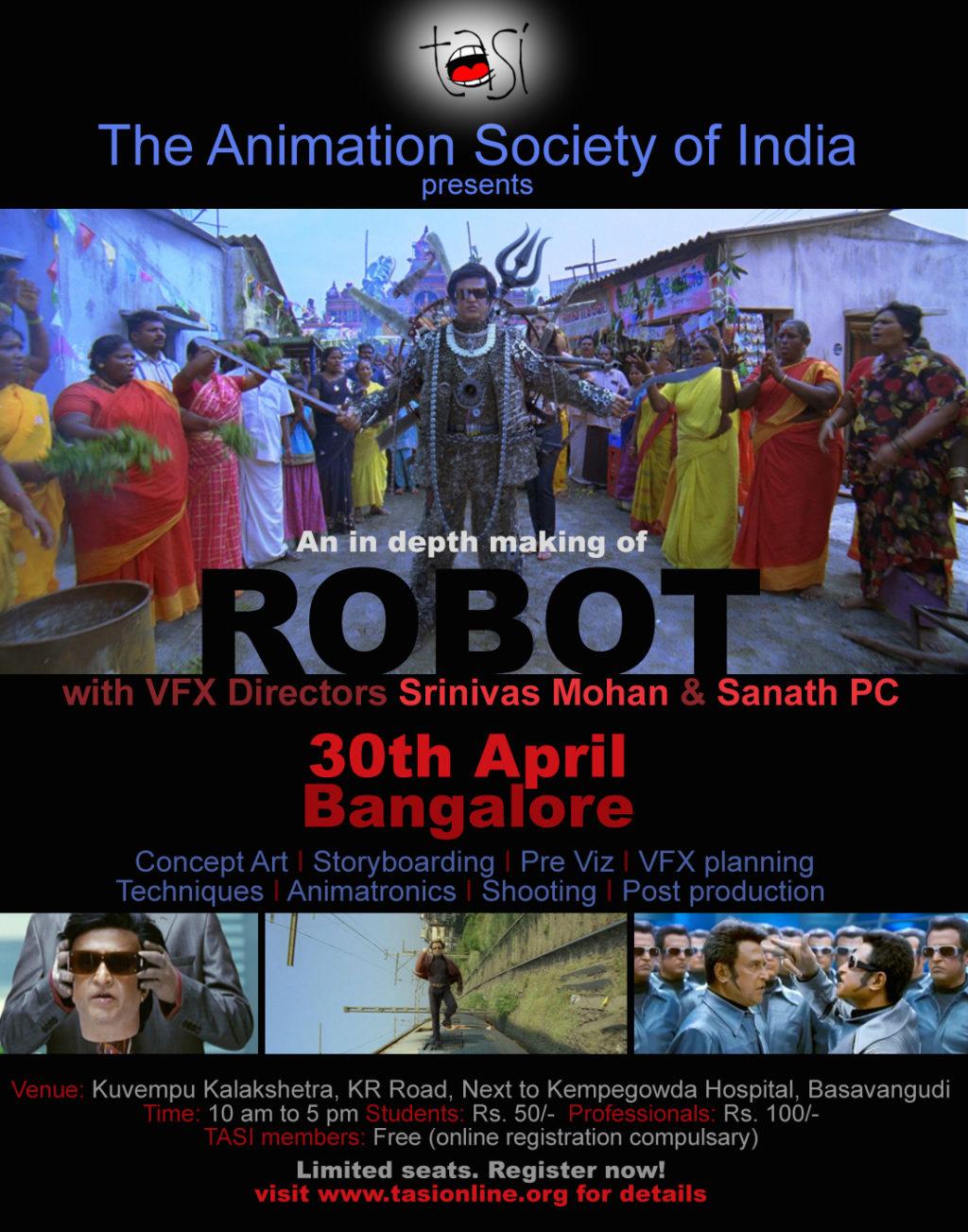 Robot Bengaluru