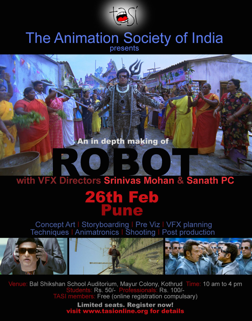 Robot Pune