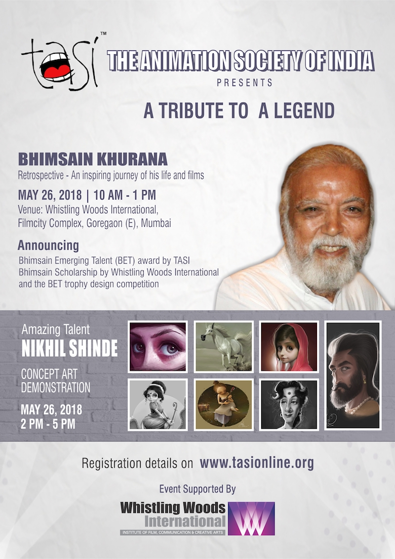 Venue whistling woods international film city complex goregaon east mumbai speakers session 1 kireet khurana session 2 nikhil shinde